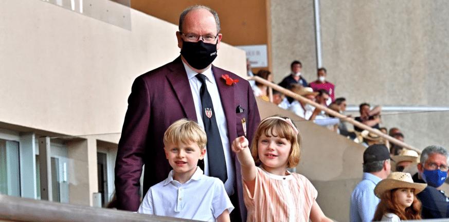 Πάλι μόνος ο πρίγκιπας Αλβέρτος του Μονακό σε δημόσια εμφάνιση