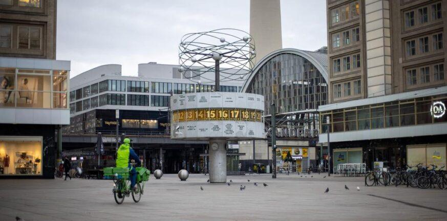 Γερμανία: 77 θάνατοι και 455 κρούσματα κορονοϊού σε 24 ώρες