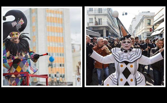 Πάτρα: Στους δρόμους οι τελάληδες του Καρναβαλιού