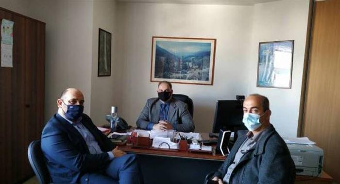 Συνάντηση Ιάσονα Φωτήλα με Γ. Πιτσιλή, Κ. Τσουβάλα και Δ. Μελά