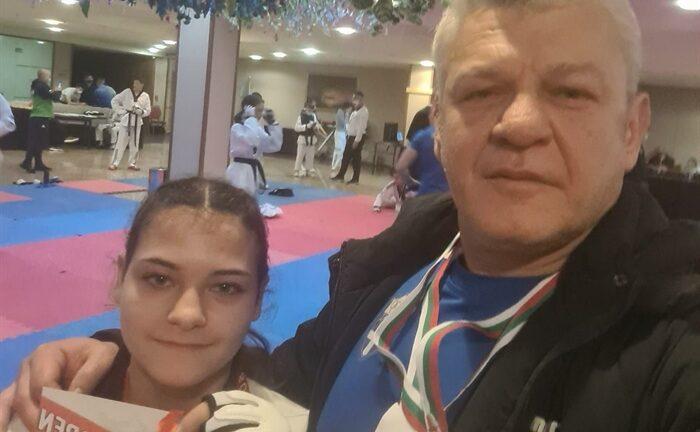Μετάλλιο η Πάντου στην Βουλγαρία