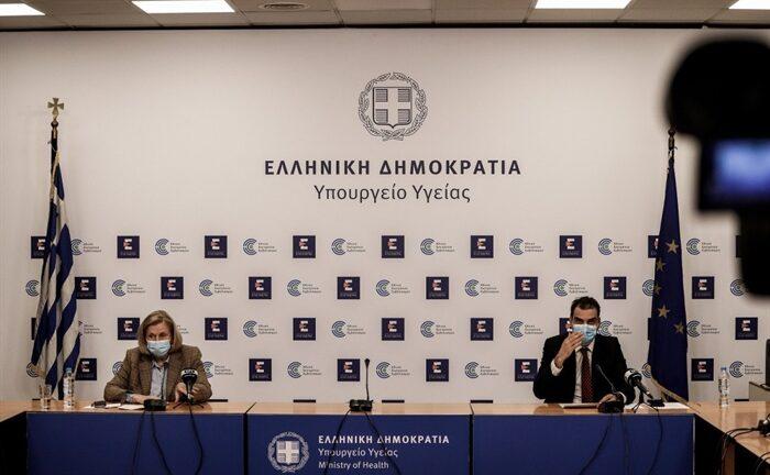 Η ενημέρωση για την εξέλιξη του εμβολιασμού στην Ελλάδα