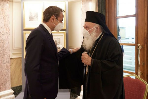 Ιερώνυμος: «Βρήκαμε λύση για τις εκκλησίες το Πάσχα» - Τι δήλωσε μετά τη συνάντηση με Μητσοτάκη
