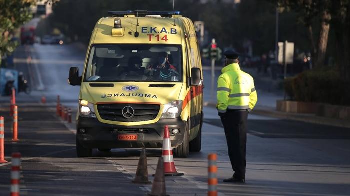 Αχαΐα: Τραυματισμός οδηγού μηχανής - Στο σημείο η Πυροσβεστική