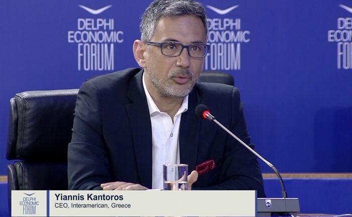 Ο Γιάννης Καντώρος στο DELPHI ECONOMIC FORUM: «Η ψηφιακή εποχή ζητάει νέα αντίληψη για την εργασία»