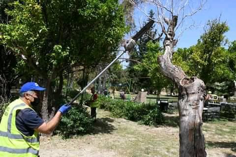 Καθαρισμός σε πάρκο Σκαγιοπουλείου και Δασύλλιο