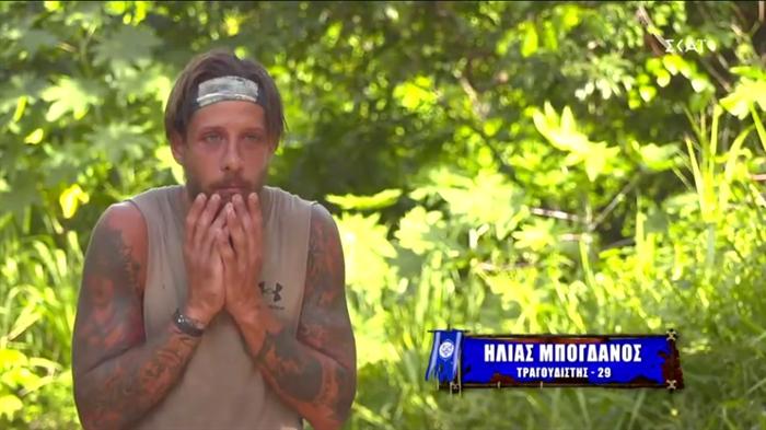 Survivor - Ηλίας Μπόγδανος: «Ξερνάω» με Σάκη, Μαριαλένα