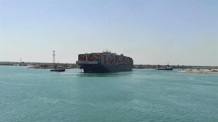 Αίγυπτος: Πλοίο προσάραξε στο Σουέζ
