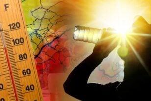 """Καύσωνας - Αχαΐα: """"Καυτές νύχτες"""" από σήμερα - 30αρια ακόμα και το βράδυ - ΧΑΡΤΕΣ"""