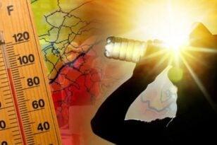 """Διατηρούνται οι υψηλές θερμοκρασίες - Πότε θα """"χτυπήσει"""" 40αρια στην Πάτρα - ΚΑΙΡΟΣ"""