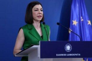 Πελώνη για Ζάεφ: Απαιτούμε πλήρη εφαρμογή της συμφωνίας