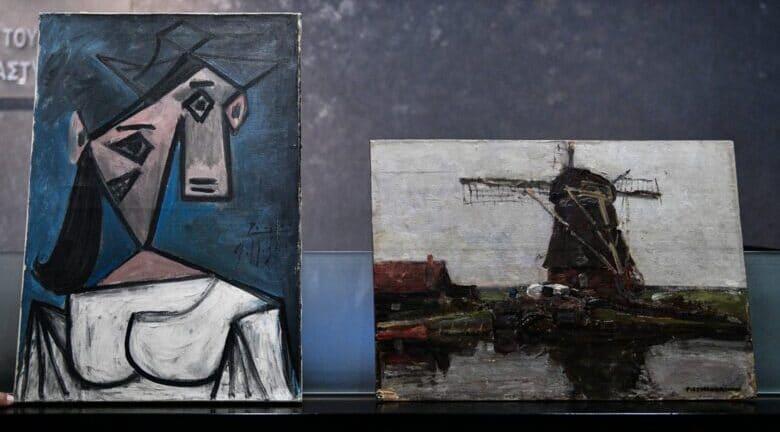 Τι αποκάλυψε ο δράστης για τους κλεμμένους πίνακες – «Αυτούς βρήκα μπροστά μου»