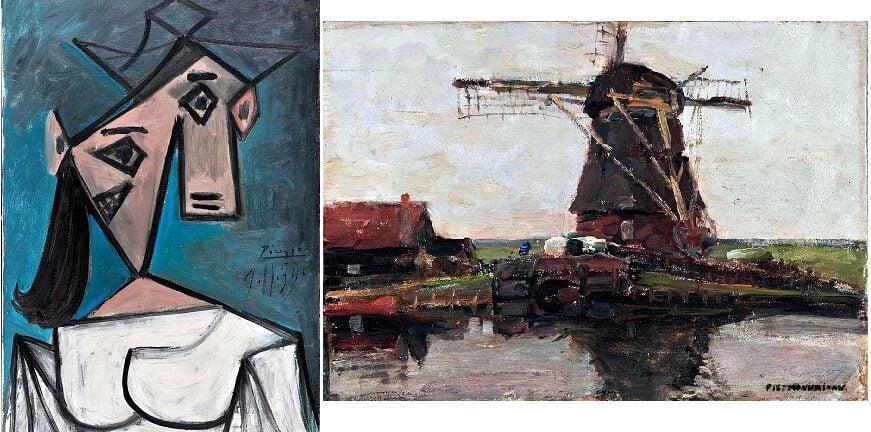 Έτσι βρέθηκαν οι κλεμμένοι πίνακες του Πικάσο και του Μοντριάν από την Εθνική Πινακοθήκη