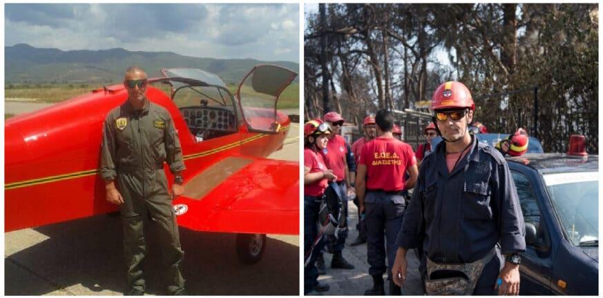 Κώστας Καλογερογιάννης: Θλίψη για τον Μεσολογγίτη συνεπιβάτη του αεροσκάφους