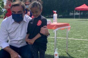 Σε τουρνουά ποδοσφαίρου μεταξύ προσφύγων και αθλητών Special Olympics EU ο Μ. Σχοινάς