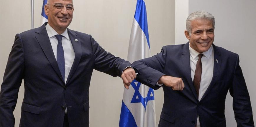 Δένδιας από Ισραήλ: «Η Ελλάδα είναι πάντοτε υπέρ του Διεθνούς Δικαίου»