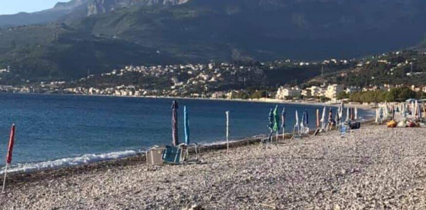 Ακράτα: Επιχείρηση καθαρισμού των παραλιών Κραθίου και Συλιβαινιωτίκων από αυθαίρετες κατασκευές