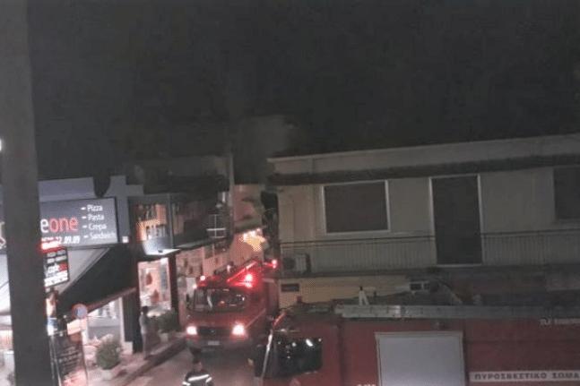 Πάτρα: Αναστάτωση τα ξημερώματα από φωτιά σε πιτσαρία ΦΩΤΟ