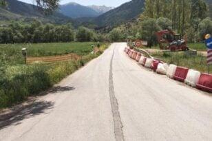 Καλάβρυτα - Σκεπαστό: Ξεκίνησαν τα έργα στο γεφυράκι
