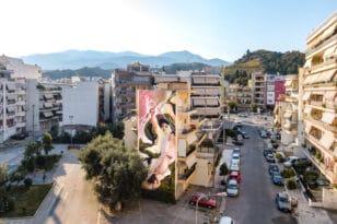 "ArtWalk 6: ""Έρωτας και Ψυχή"" το θέμα της νέας τοιχογραφίας του Γιώργου Χιώνη"