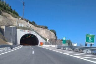 Panagopoula tunnel section 2