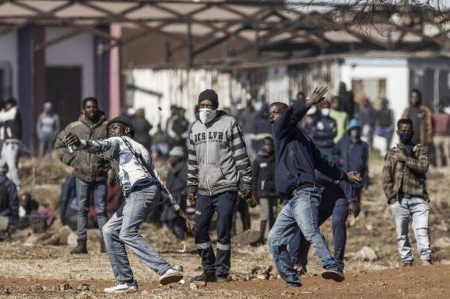africa riots