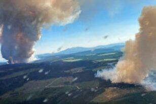 Καναδάς: Εκατοντάδες άνθρωποι εγκατέλειψαν τα σπίτια τους εξαιτίας πυρκαγιών - Πρωτόγνωρος καύσωνας με 49,6 βαθμούς Κελσίου