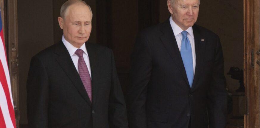 Επικοινωνία Μπάιντεν-Πούτιν για τις κυβερνοεπιθέσεις