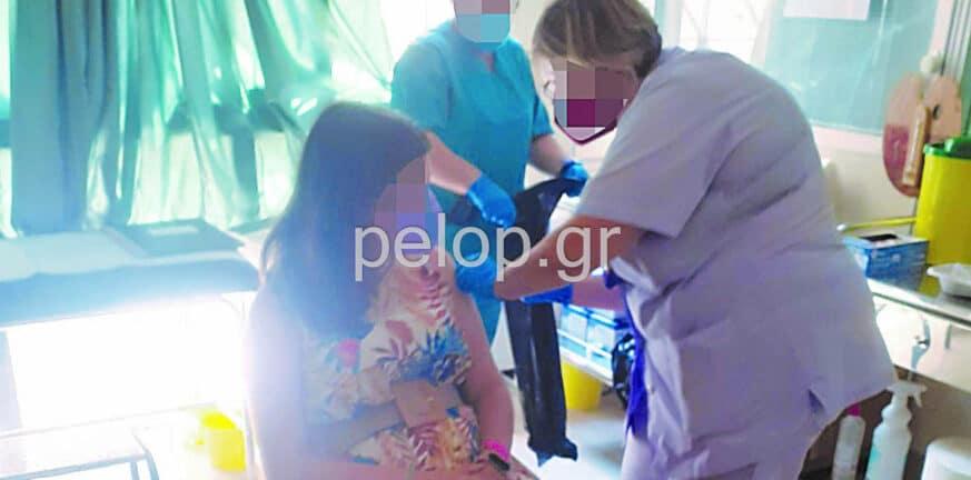Πάτρα: Η νοσοκόμα εμβολίαζε, η γιατρός ειρωνευόταν - Στη διάθεση της 6ης ΥΠΕ η καταγγελία μητέρας για αρνήτρια - επιστήμονα ΦΩΤΟ