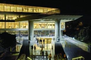 Στο Μουσείο της Ακρόπολης με την Αυγουστιάτικη πανσέληνο
