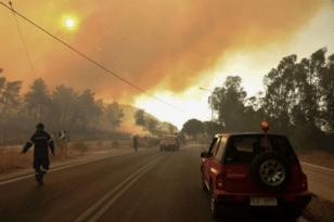 Σε επιφυλακή η Πυροσβεστική και το Σάββατο - Δείτε τον χάρτη πρόβλεψης κινδύνου πυρκαγιάς