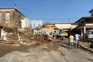Ριόλος: Οικία Παπανικολόπουλου- Την κατεδάφισαν και πήραν ανάσα!