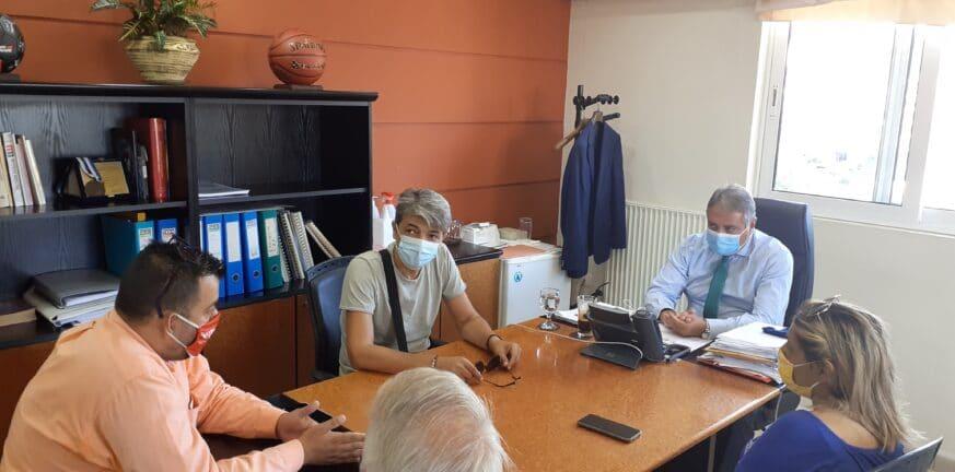 Συνάντηση Γ. Καρβέλη με τον Αχαϊκό Σύλλογο Πασχόντων από Μεσογειακή Αναιμία