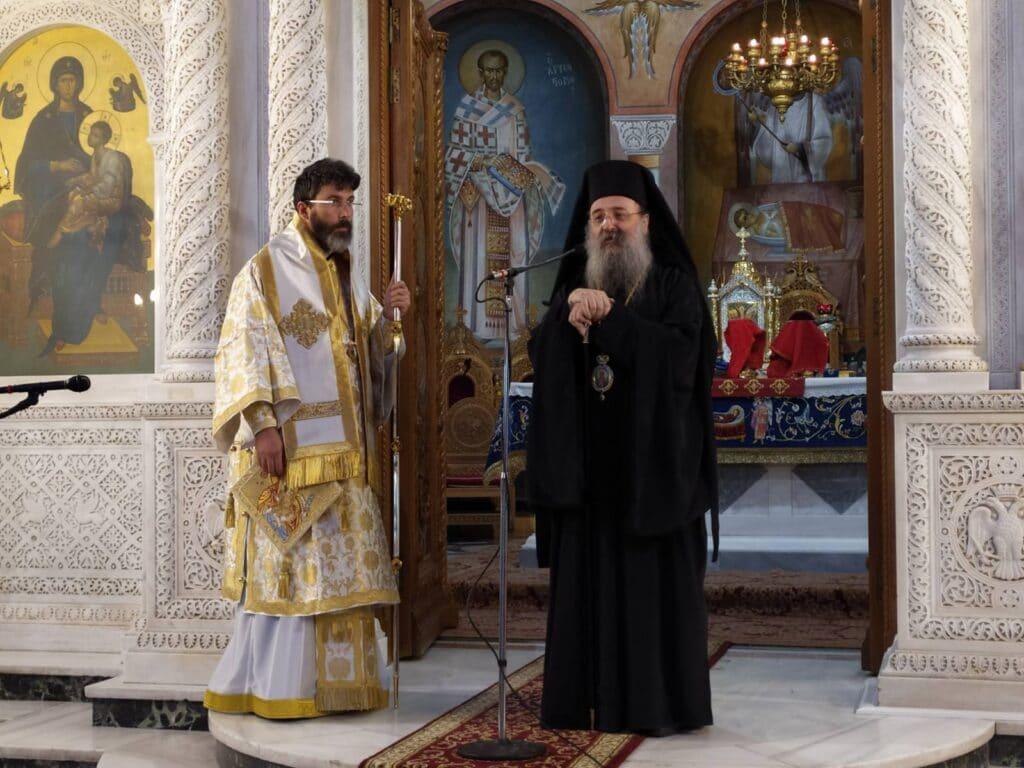 Ο Μητροπολίτης Σαράντα Εκκλησιων στην γενέτειρά του, Πάτρα