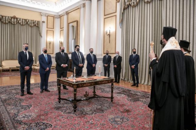 Aνασχηματισμός: Oρκίστηκαν οι πέντε υπουργοί και υφυπουργοί ΦΩΤΟ