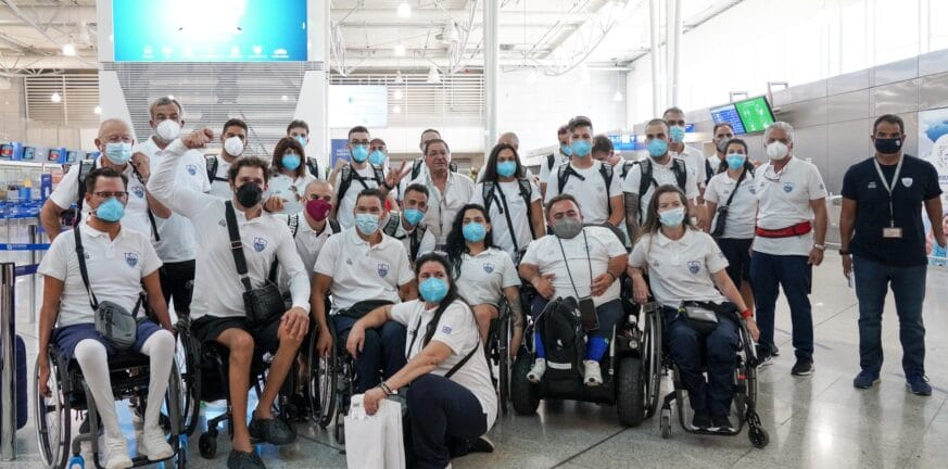 2021 08 17 Team Check in Paralympic Tokyo2020