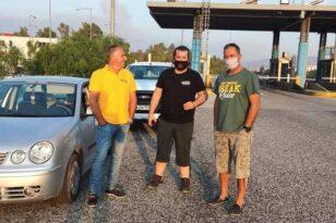 Εμπορικός Σύλλογος Αιγιάλειας: Ταξίδι ανθρωπιάς του προέδρου σε Ροβιές, Ιστιαία