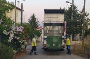 """Πάτρα: Επιχείρηση """"καθαριότητα"""" κάδων αποριμμάτων - Μόνο το 50% του δικτύου καλύπτουν οι εργαζόμενοι"""