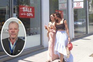 """Πάτρα: Δεν κουνιέται φύλλο στην αγορά - Τι δηλώνει στην """"Π"""" ο Κώστας Ζαφειρόπουλος"""
