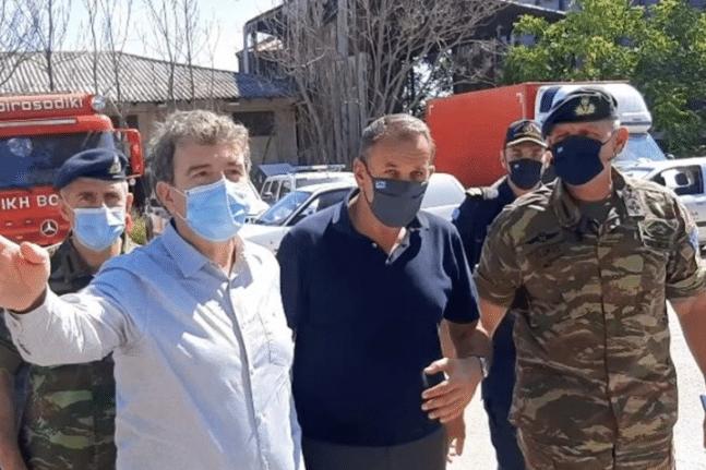 Χρυσοχοΐδης – Παναγιωτόπουλος από τον Έβρο: Τα σύνορά μας θα παραμείνουν ασφαλή και απαραβίαστα