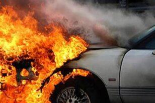 """ΕΚΤΑΚΤΟ - Πάτρα: """"Φούντωσε"""" αυτοκίνητο στο λιμάνι"""