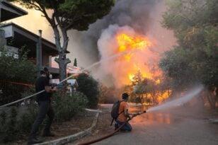 Εισαγγελική έρευνα για την καταστροφική πυρκαγιά στη Βαρυμπόμπη