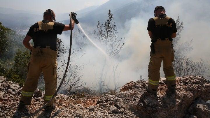 Φωτιά στην Κοζάνη - Επιχειρούν εναέρια μέσα ΒΙΝΤΕΟ