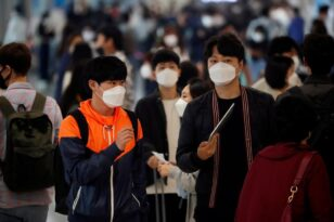 Νότια Κορέα: Για πρώτη φορά πάνω από 2.000 κρούσματα