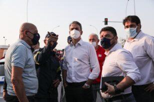 Φωτιά στην Ηλεία: Στις πληγείσες περιοχές ο Κυριάκος Μητσοτάκης