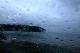 Kακοκαιρία «Μπάλλος»: Έβρεξε σε όλη την Ελλάδα εκτός από το Καστελλόριζο