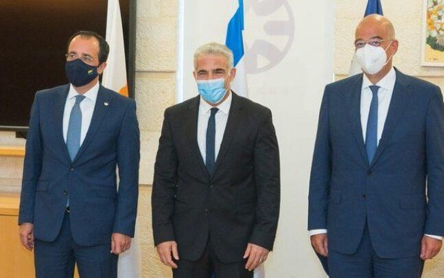 Οι εξελίξεις σε Αν. Μεσόγειο, Μ. Ανατολή και Β. Αφρική στο επίκεντρο της τριμερούς Ελλάδας - Κύπρου - Ισραήλ