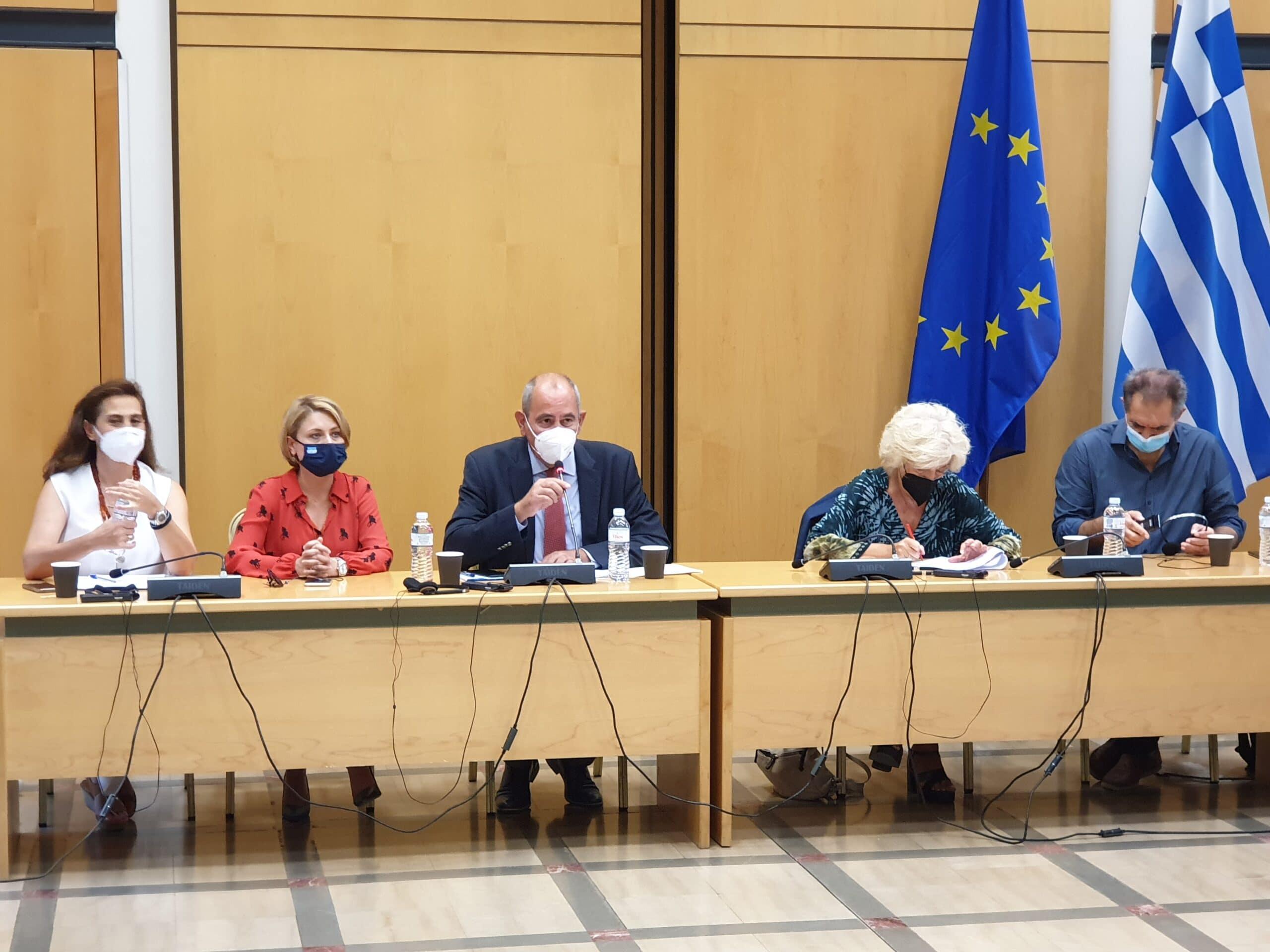Χριστίνα Αλεξοπούλου: Συνάντηση με μέλη της Γαλλικής Εθνοσυνέλευσης