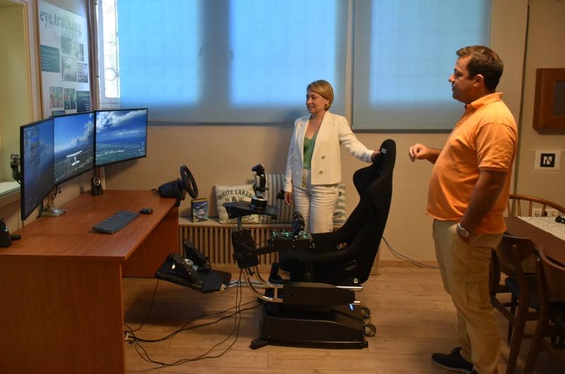 Χριστίνα Αλεξοπούλου: Συνάντηση γνωριμίας με το Εργαστήριο Σχεδιασμού Ενσωματωμένων Συστημάτων και Εφαρμογών