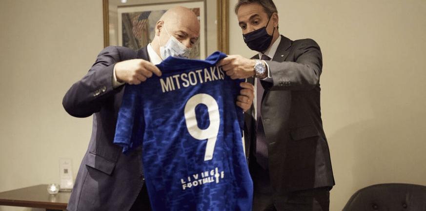 Επαφές του πρωθυπουργού Κυριάκου Μητσοτάκη στη Νέα Υόρκη